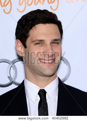 LOS ANGELES - DEC 02:  Justin Bartha arrives to Trevor Project Honors Katy Perry  on December 02, 2012 in Hollywood, CA