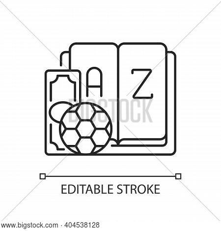 Betting Glossary Linear Icon. Sports Betting Terms. Gambling Definitions. Phrases Meaning. Thin Line