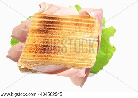Toast Stuffed Ham Salad Toast Stuffed Ham Salad