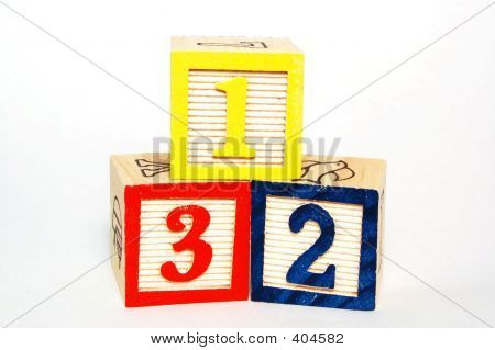 Toy Blocks - Numbers