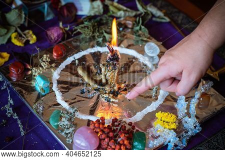 Candle Magic, Casting And Cleansing Aura With Wax And Candle, Love Spell, Old European Magic For A L