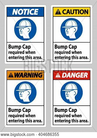 Bump Cap Required When Entering This Area