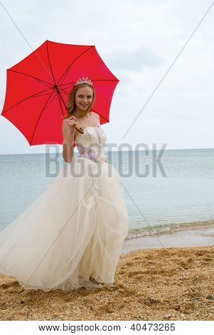 The Bride With A Parasol