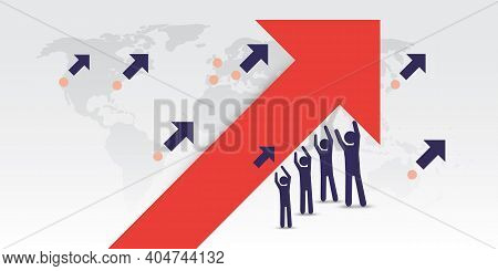Big Mission, Target, Way To Global Financial Success - Join Forces For The Economic Growth -  Busine