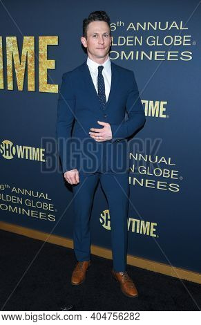 LOS ANGELES - JAN 05:  Actor Jonathan Tucker arrives for Showtime Golden Globe Nominee Celebration Premiere on January 05, 2019 in West Hollywood, CA