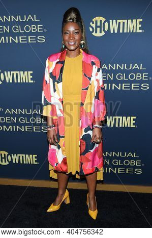 LOS ANGELES - JAN 05:  Actress Yolonda Ross arrives for Showtime Golden Globe Nominee Celebration Premiere on January 05, 2019 in West Hollywood, CA