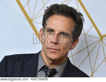 LOS ANGELES - SEP 21:  Ben Stiller arrives for Showtime Celebrates Emmy Eve on September 21, 2019 in West Hollywood, CA