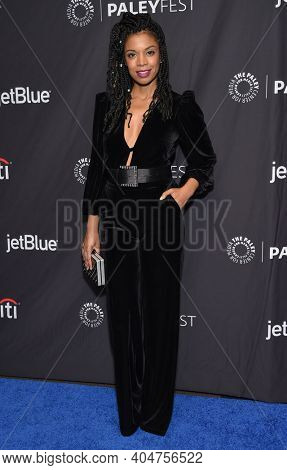 LOS ANGELES - MAR 24:  Susan Kelechi Watson arrives for PaleyFest 2019 - This Is Us on March 24, 2019 in Hollywood, CA