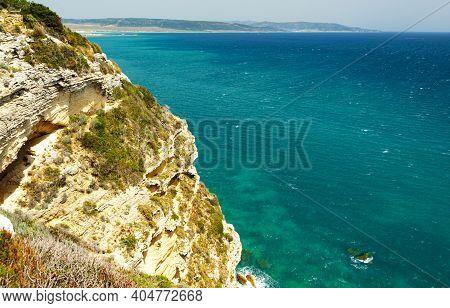 La Brena National Park On Barbate Coast In Cadiz Province, Spain