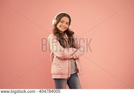 Enjoy Sound. Sound Vibrations. Music And Technology. Audio Sound. Singing Along To Tune. Happy Child