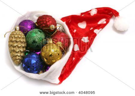 Christmas Toys And Santa Hubcap