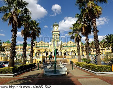 Johannesburg, South Africa - 28 Apr 2012: The Casino In Gold Reef City, Johannesburg, South Africa