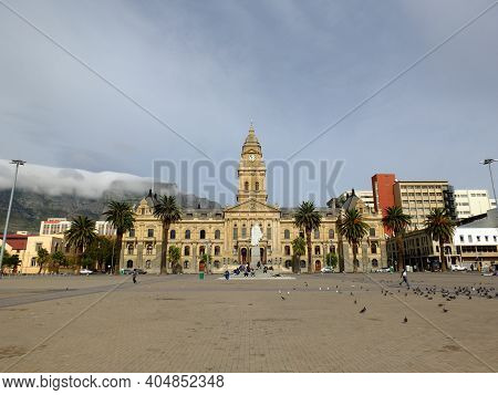 Cape Town, South Africa - 29 Apr 2012: City Hall, Cape Town, South Africa