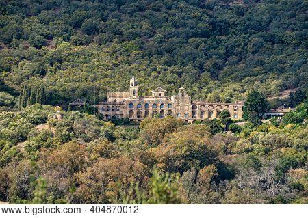 Monastery Of San Jeronimo De Valparaiso Near Medina Azahara, Cordoba, Andalusia, Spain