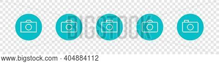 Photographing Allowed. Photo Camera Icons. Trendy Symbol For Website Design, Web Button, Mobile App.