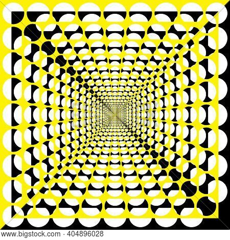 Multiple Black And Yellow  Board Background On Transparent Designer Cut