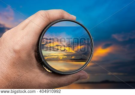 Photography View Camera Photographer Lens Lense Through Video Photo Digital Glass Hand Blurred Focus
