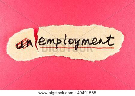 Unemployment To Employment