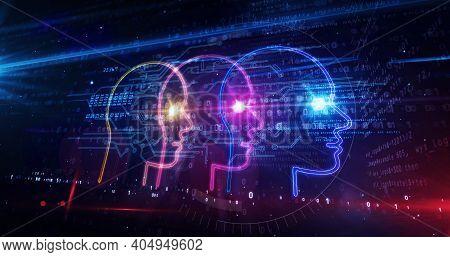 Social Scoring And Rating Symbol Abstract 3D Illustration