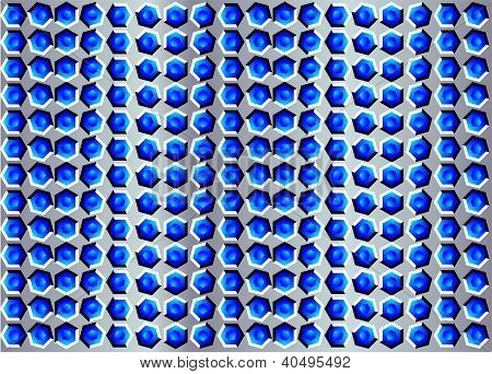 Background With Illusion Of Movement