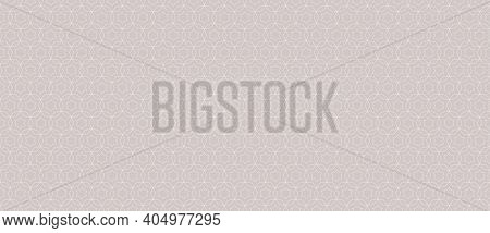 Subtle Vector Abstract Geometric Seamless Pattern. Thin Lines Texture With Grid, Stars, Diamonds, Fl