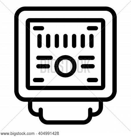 Electrical Junction Box Icon. Outline Electrical Junction Box Vector Icon For Web Design Isolated On