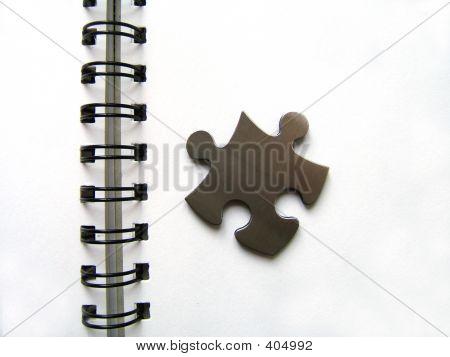 Metallic Jigsaw And Spirale