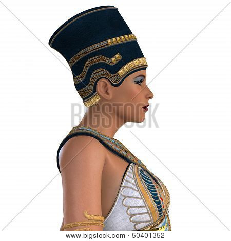 Egyptian Nefertiti Face