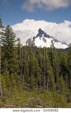 Big Cowhorn Mt. Thielsen Extinct Volcano Oregon Cascade Range Mountain