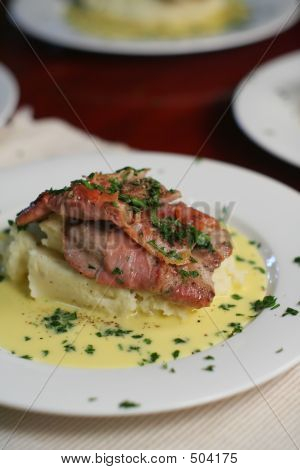 Veal Scallopini Portrait