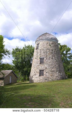 Mill And Granary In Minneopa Park