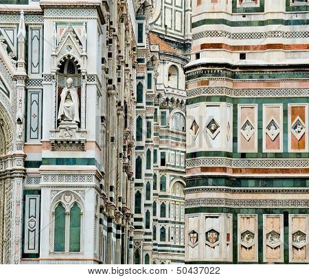 Florence Cathedral In Opera Di Santa Maria Del Fiore. Florence, Italy