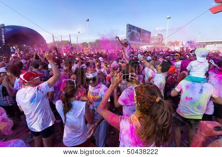The Color Run 2013 In Milan, Italy