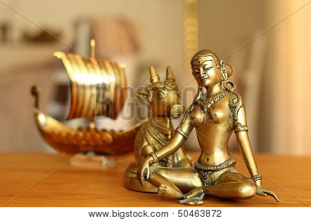 Parvati And A Longboat