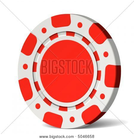 Poker Chip. Vector.