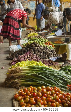 Vegetable Market In Sri Lanka
