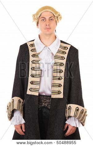 Man In Medieval Costume