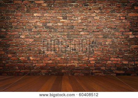 Room With Brick Wall