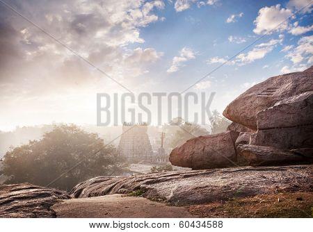 Hindu Temple In Mamallapuram