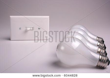 Matte electric bulbs
