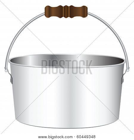 Flat Pot For The Bonfire
