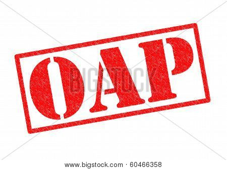 Oap Rubber Stamp
