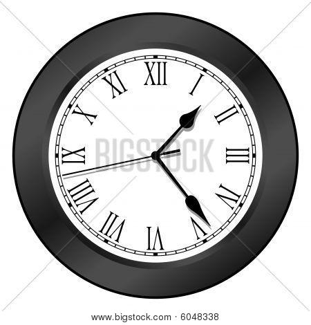 Clock - Black