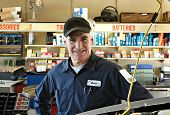 The familiar face of reliability, quality service, expertise and integrity with the hometown master mechanic. poster