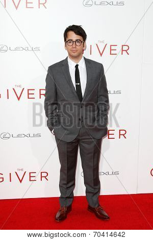 NEW YORK-AUG 11: Writer Michael Mitnick attends the premiere of