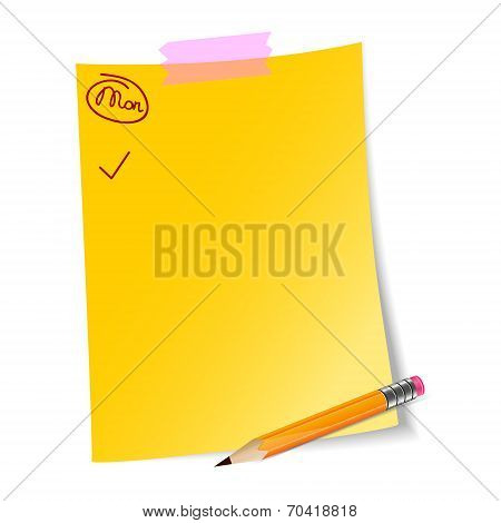 Daily planning paper