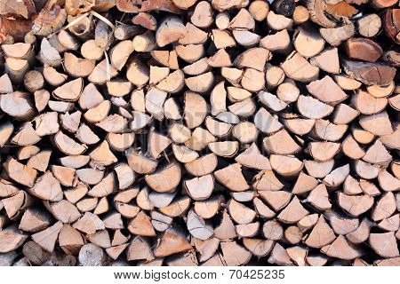 Raw Material Of Fuelwood.