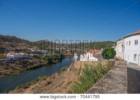 Mertola, a small town in Alentejo region, Portugal, Europe
