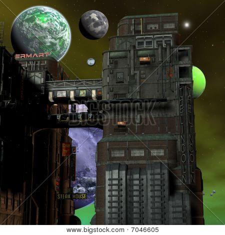 Fondo de ciencia ficción