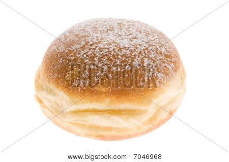 Doughnut On White Background